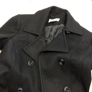 Brand new NWT Black Anne Klein Wool Winter Coat